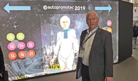 Autopromotec-utstillingen vokser