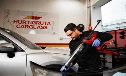 Hurtigruta Carglass kjøper to glassverksteder