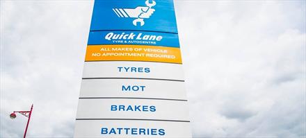 Ford utvider verkstedkonseptet Quick Lane